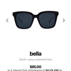 DIFF Bella sunglasses (never worn)